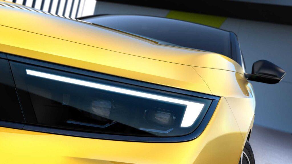 Opel Astra 2022 фары