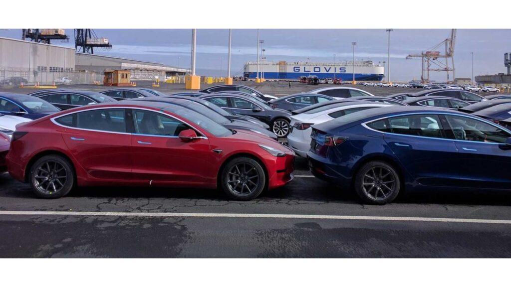 пошлины на импортные электромобили