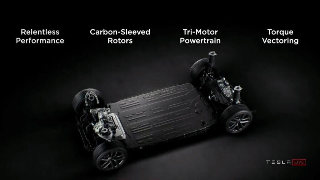Tesla Model S Plaid новый двигатель