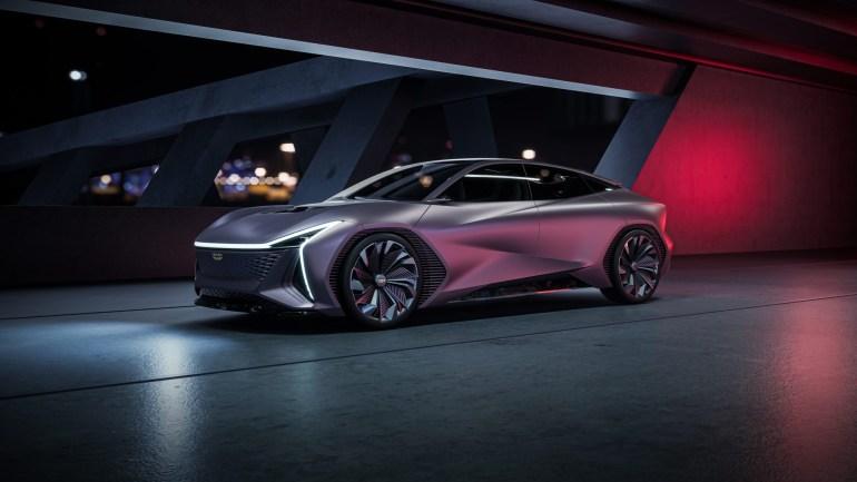 Концепт электромобиля Geely Vision Starburs