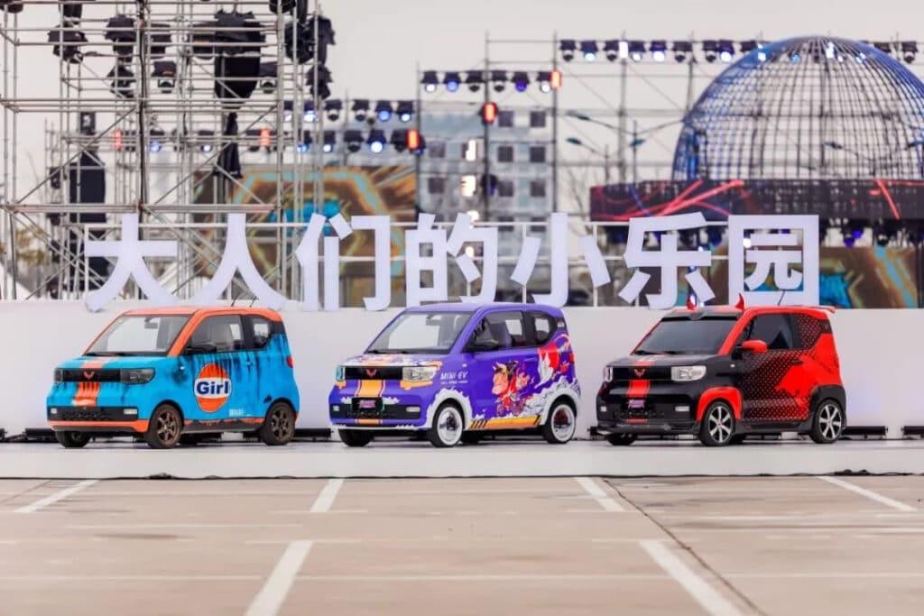 Wuling HongGuang Mini EV рекорд продаж китайского электромобиля