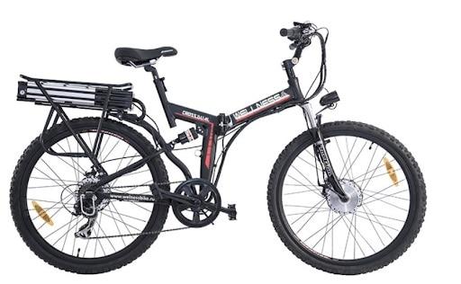 Электровелосипед WELLNESS Cross Rack 750