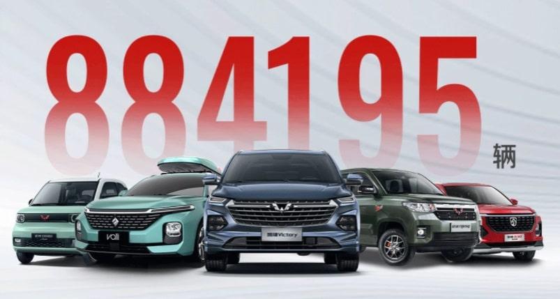 Объем продаж китайских авто за 2021