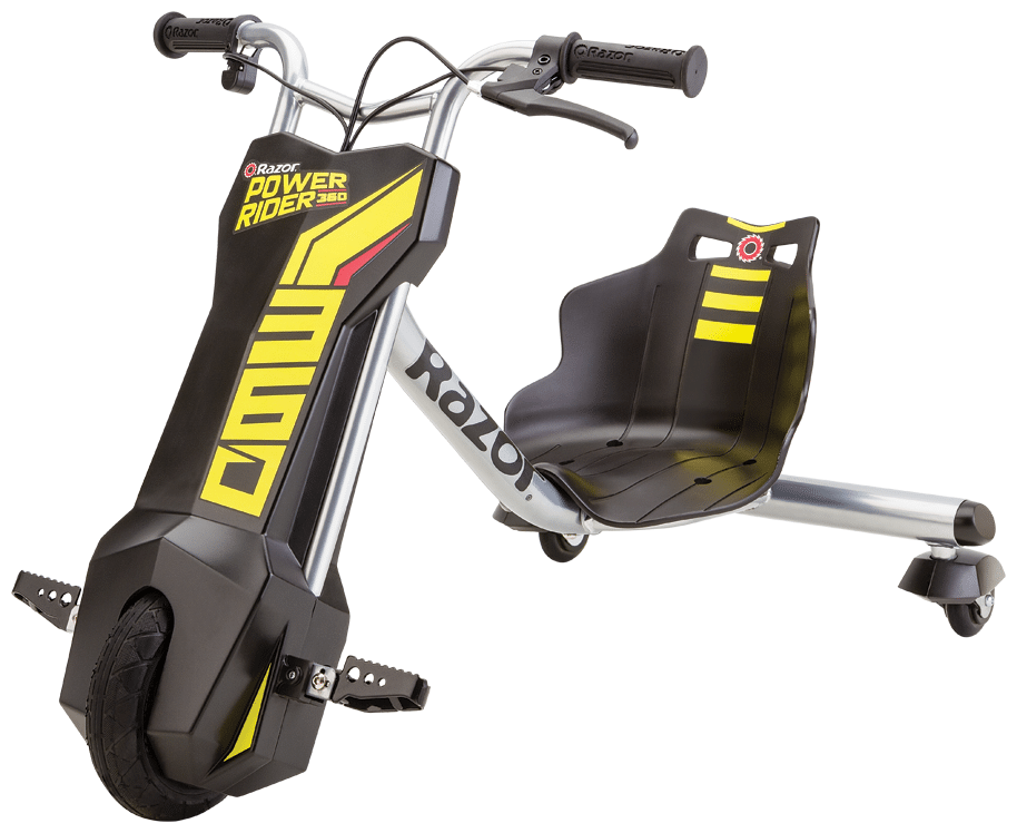 Дрифтовый трицикл (электровелосипед) Razor PowerRider 360