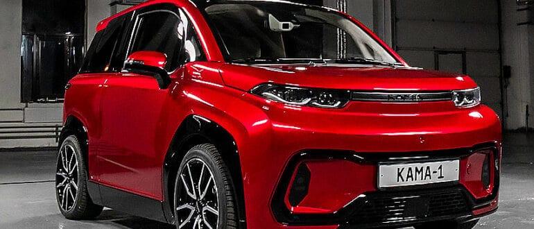 Электромобиль Кама-1 полный обзор, характеристики, дизайн, цена