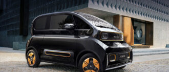Электромобиль Baojun KiWi EV