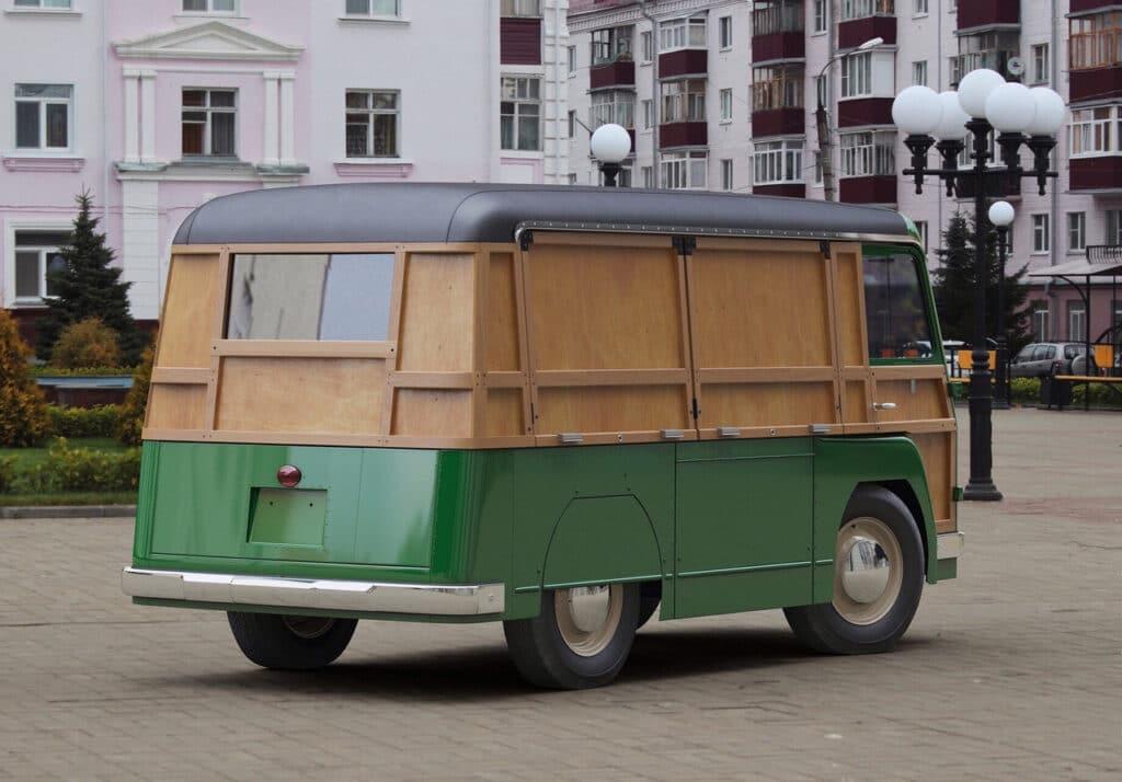 электромобиль из СССР «НАМИ-750»