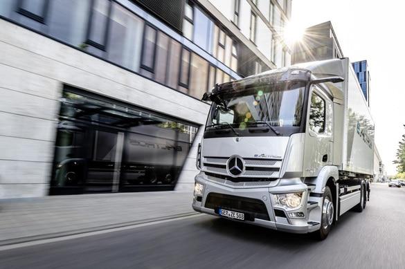 Mercedes-Benz eActros безопасность