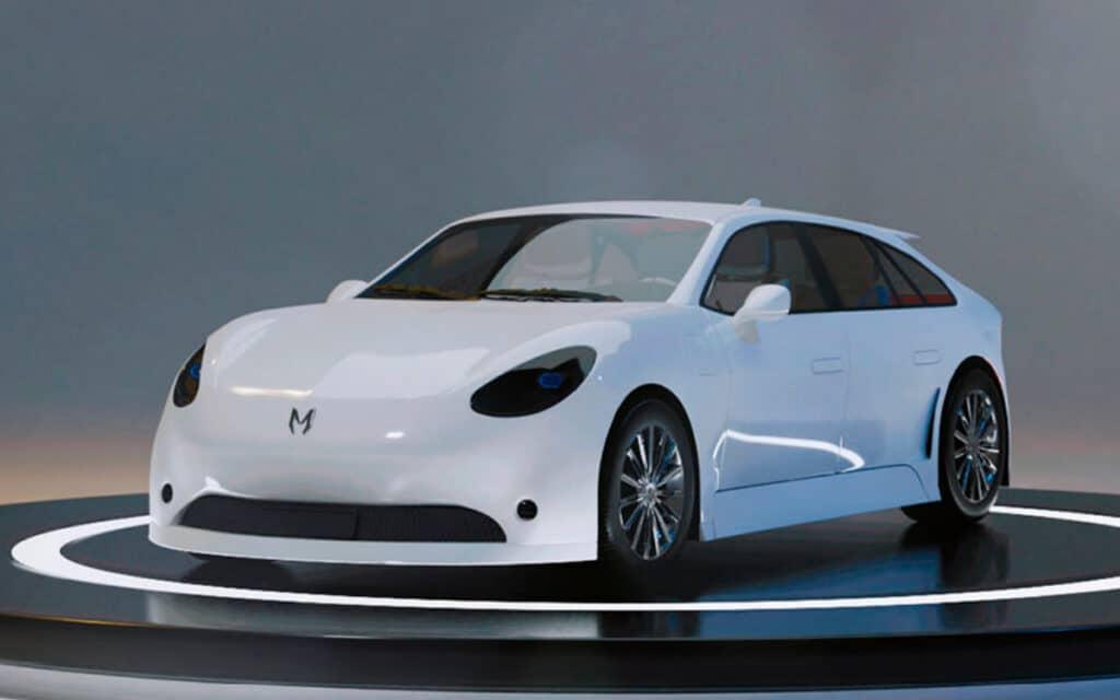 Электромобиль премиум-класса «Монарх»