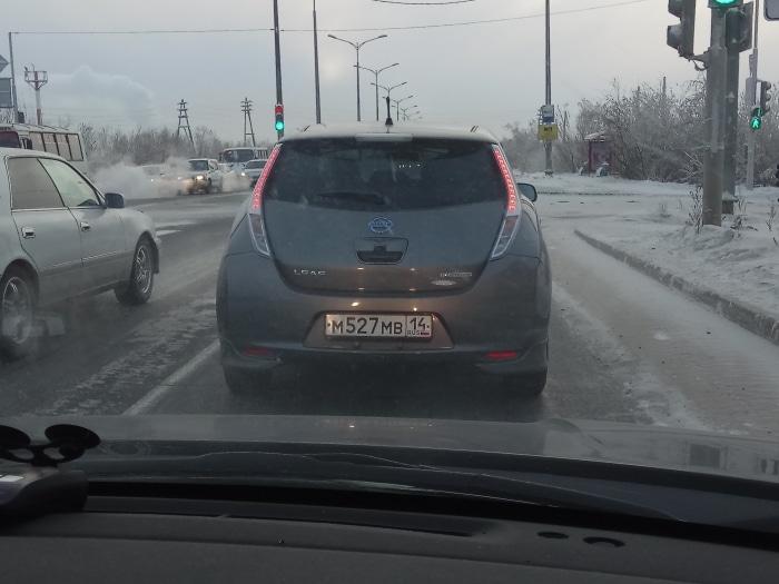 Электромобиль в Якутске