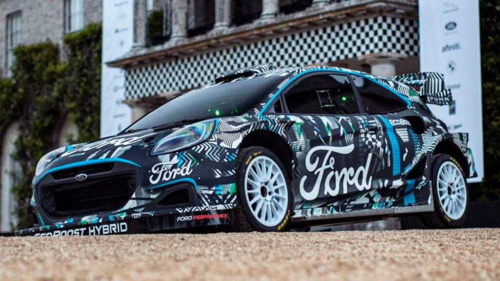 Гибрид Ford Puma Rally 1