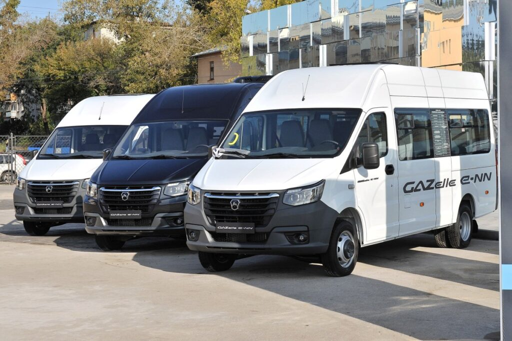 Коммерческие электромобили GAZelle e-NN