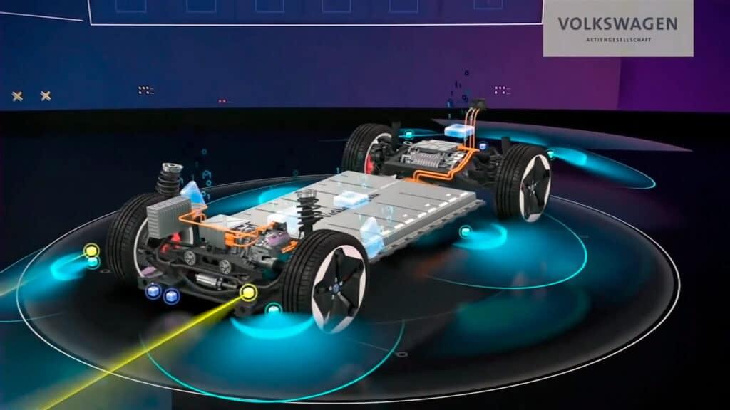 Новая архитектура SSP (Scalable Systems Platform) для будущих электромобилей VW