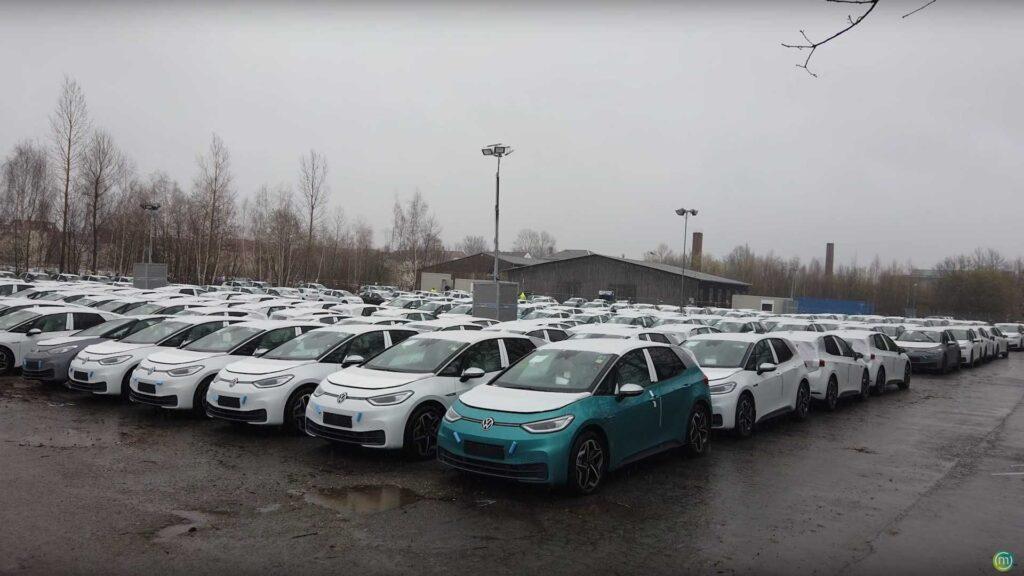 Первая партия электромобилей Volkswagen ID.3