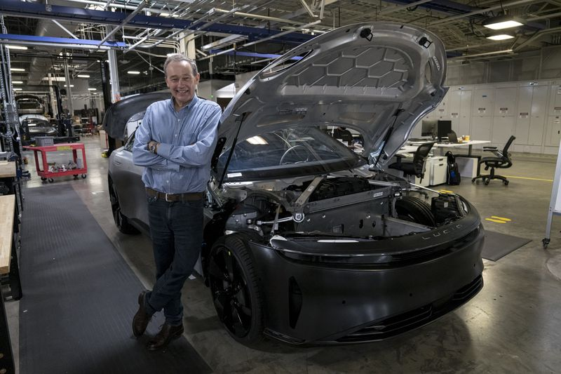 Питер Роулинсон, генеральный директор Lucid Motors Inc.