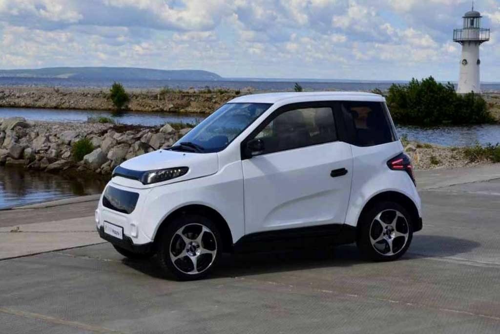 Российский электромобиль City Modul 1 от стартапа ZETTA