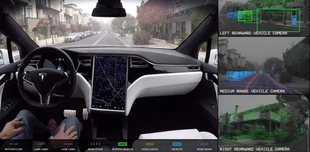 Система автопилота Tesla Vision