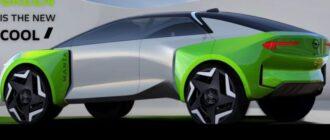 Тизер электромобиля Opel Manta GSe