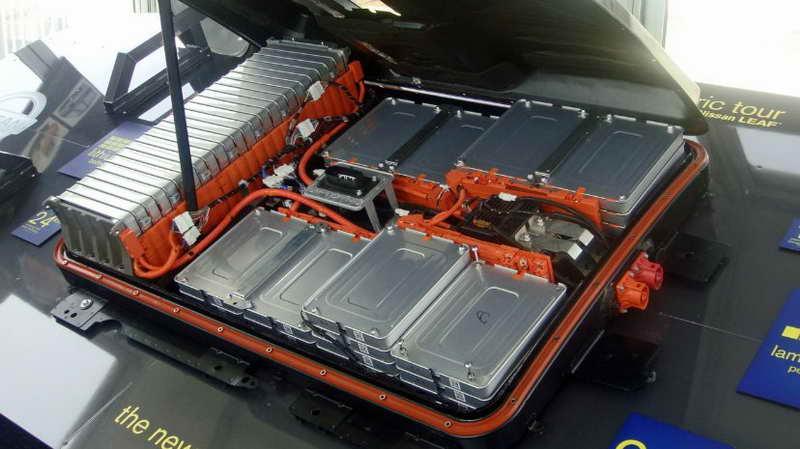 аккумуляторный блок в электромобиле