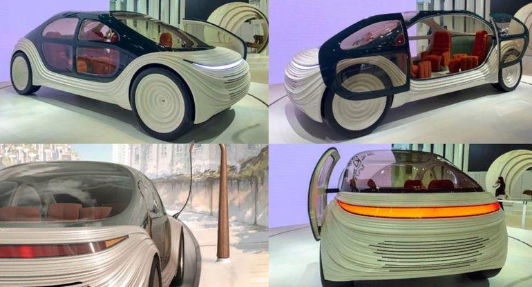 Концепт электромобиля airo 2