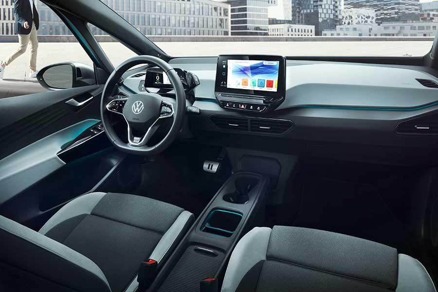 Volkswagen ID.3 интерьер