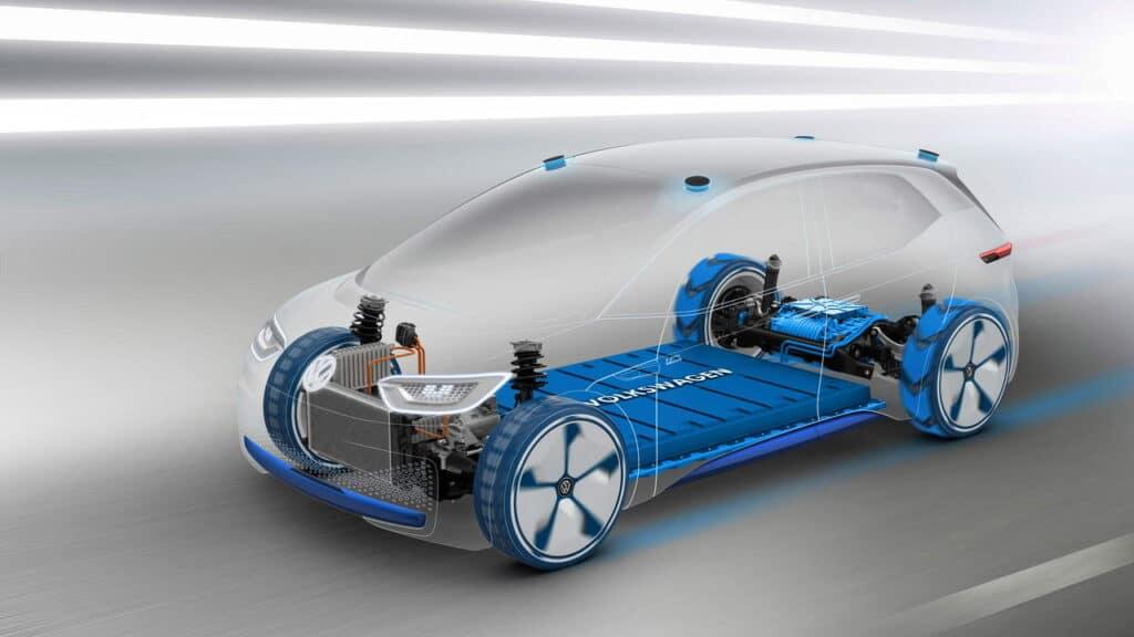 Volkswagen ID.3 силовая установка