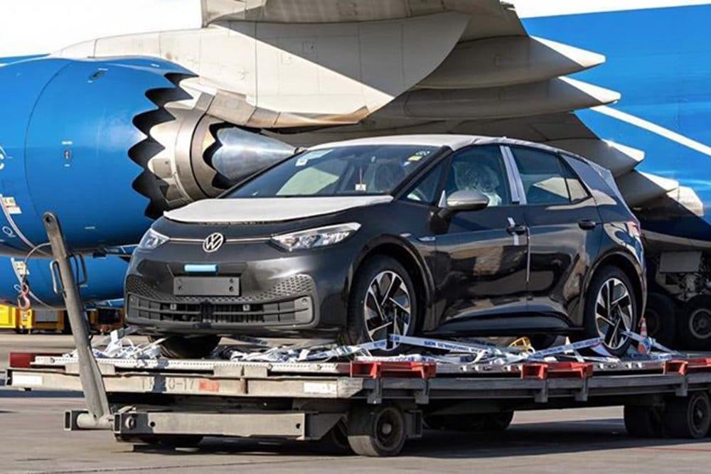 Электромобиль VW ID.3 в Шереметьево Россия