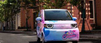 электромобиль Chery QQ Ice Cream