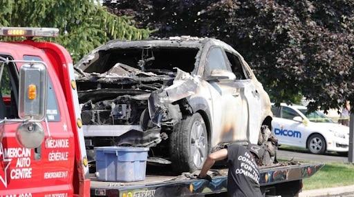 Hyundai Kona EV: самовозгорание