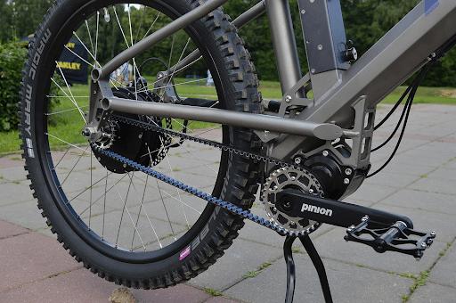 ременная передача: мотор в велогибриде