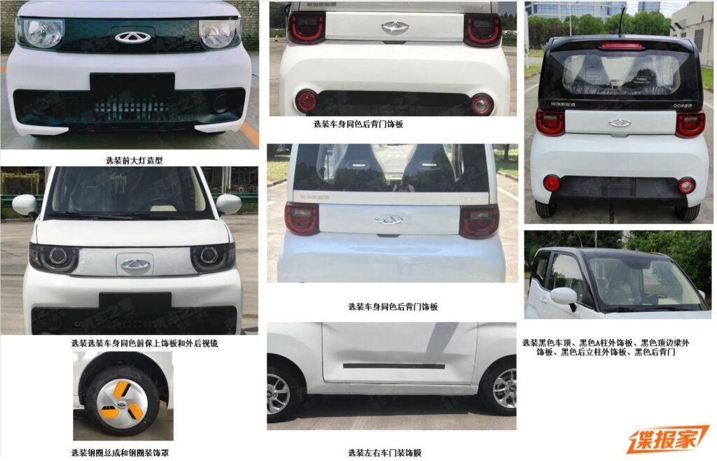 Дизайн электромобиля iCar инсайдерские фото