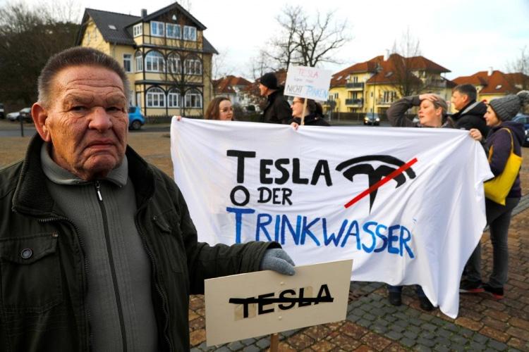 Проблемы Гигафабрики Tesla в Германии