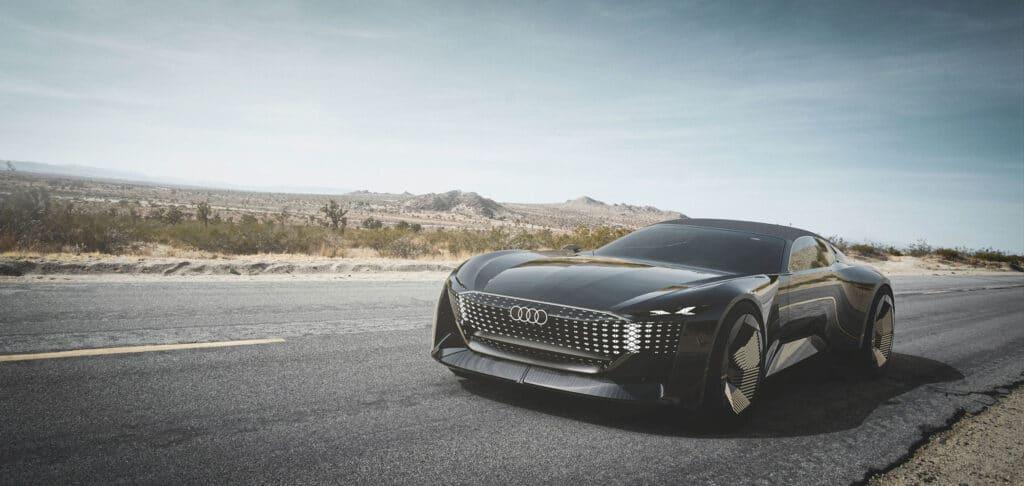 Audi Skysphere электромобиль