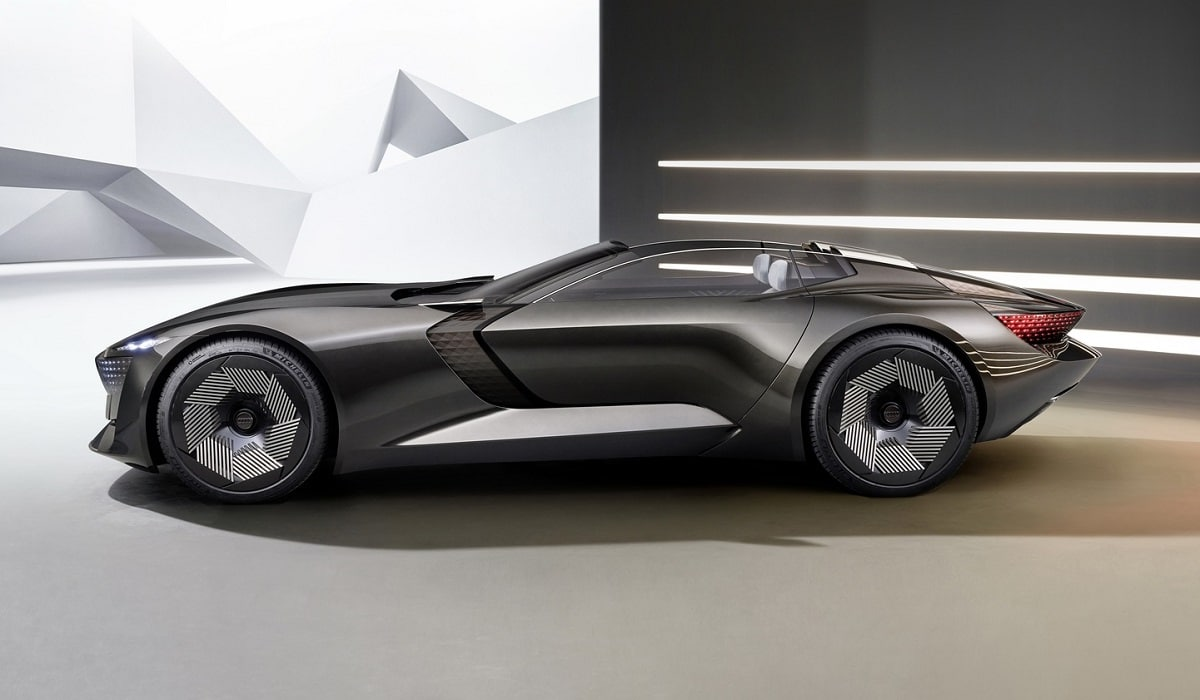 Audi-skysphere презентация концепта электромобиля