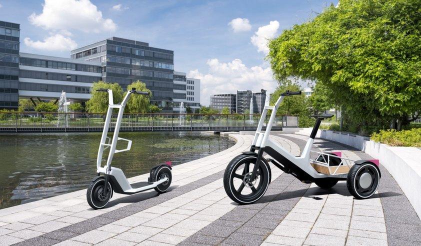 BMW Group представили концепты электросамоката и электротрицикла