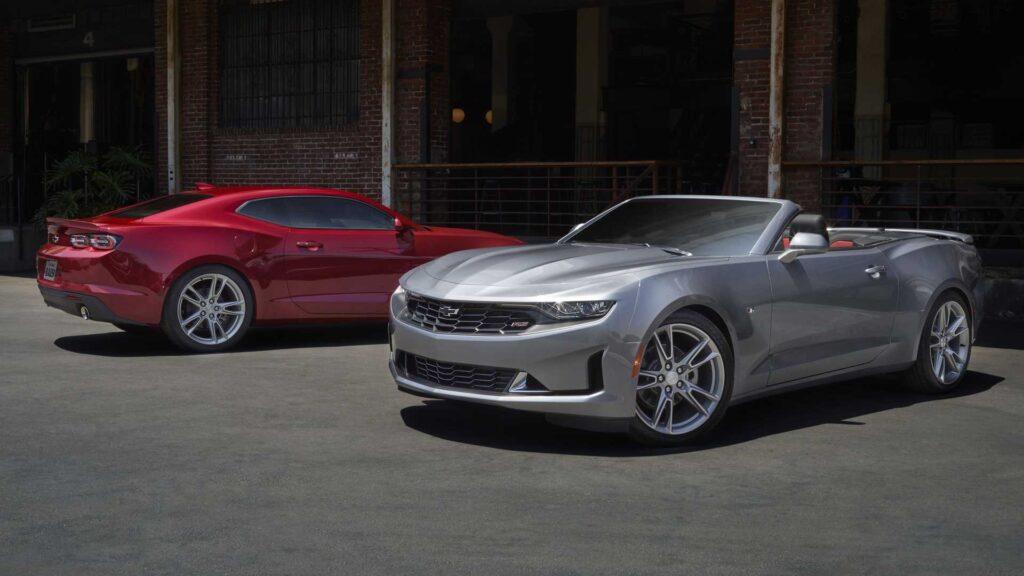 Chevrolet Camaro может стать электромобилем