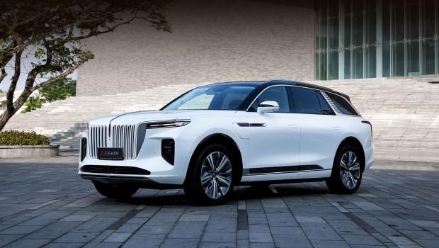 Hongqi E-HS9 и другие электромобили Китая