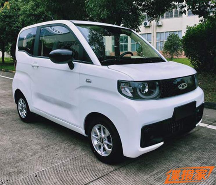 iCar дешевый электромобиль из китая