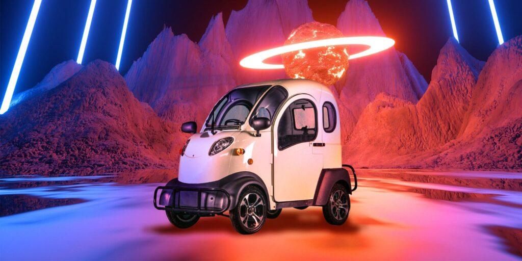 K5M–2500 электромобиль из китая за 155 тысяч рублей