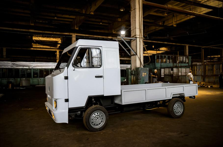Kami Motors Nimble электрогрузовик из киргизии