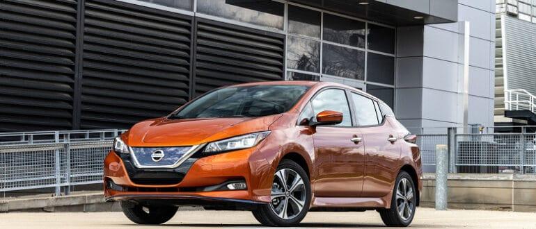 Nissan Leaf S стал самым дешевым электромобилем в США