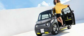 электромобиль Opel Rock-e