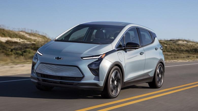 самые дешевые электромобили Chevrolet Bolt EV