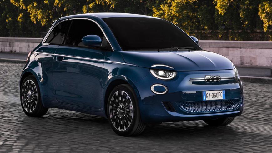самые дешевые электромобили Fiat 500 e