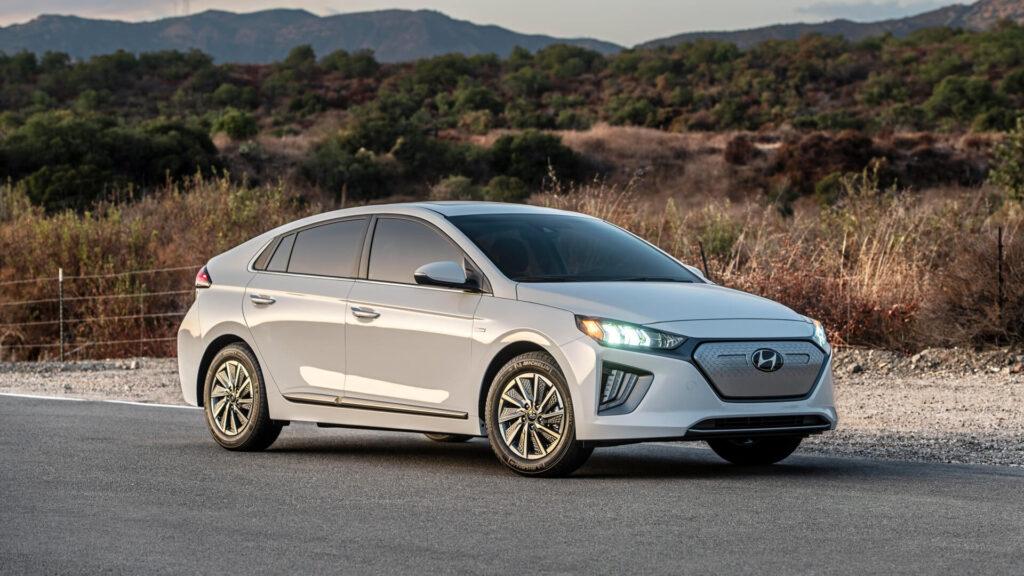 самые дешевые электромобили Hyundai Ioniq Electric