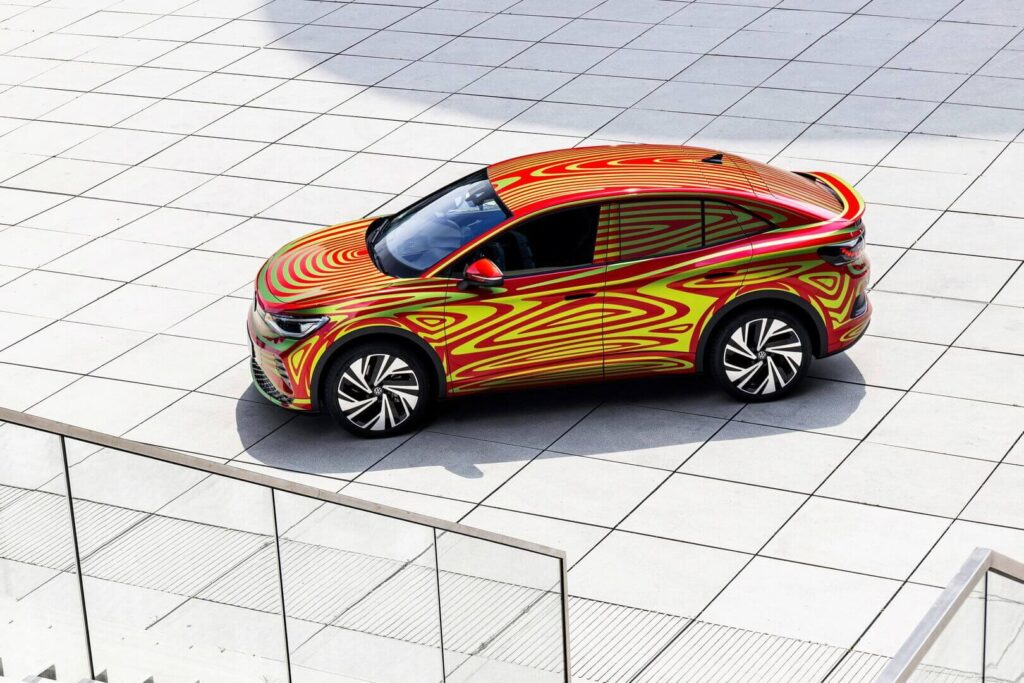 Volkswagen ID.5 GTX концепт электромобиля