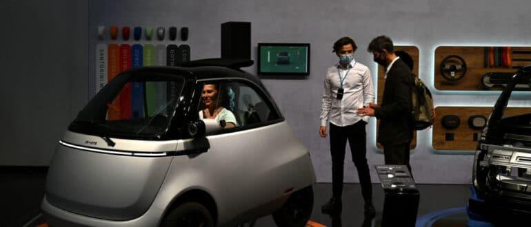 выставка электромобилей в Мюнхене
