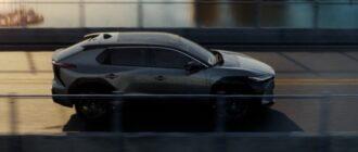 электромобиль Toyota Motor