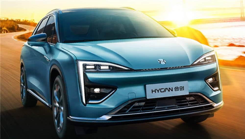 Электромобиль Hycan 007