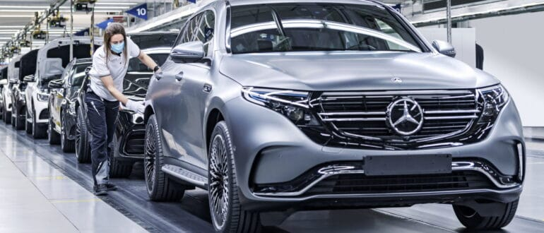 Электромобили Mercedes-Benz в России